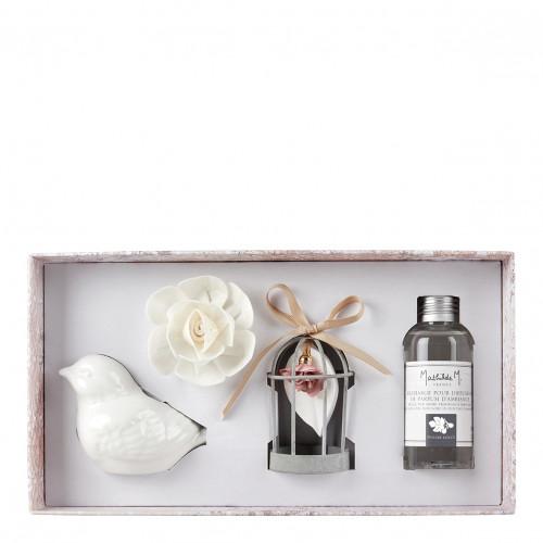 Coffret diffuseur de parfum d'ambiance Palazzo Bello - Figuier Dolce