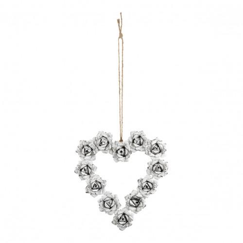 Couronne métal Romance Cœur - Petit modèle
