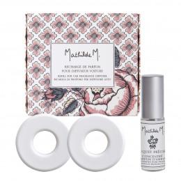 Recharge de parfum pour diffuseur de voiture Escapades Parfumées - Bouquet Précieux