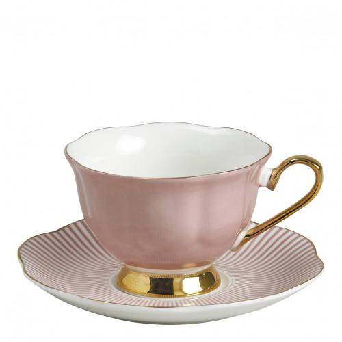 Tasse à thé Madame de Récamier - Rose