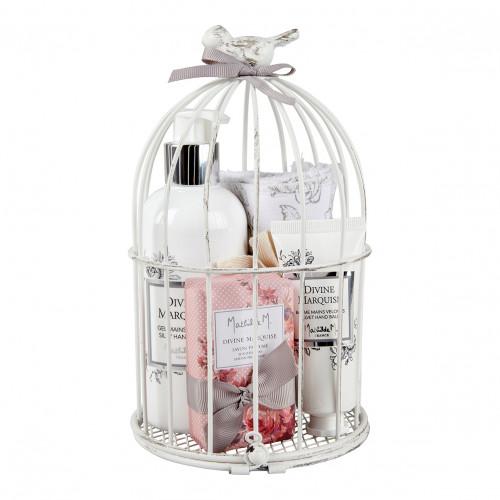 Coffret cage à oiseau Les rituels beauté de Mathilde - Divine Marquise