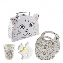Coffret valisette Chat Petit Carrousel