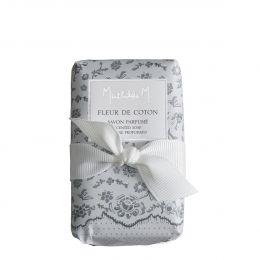Savon parfumé Cachemire Exquis - Fleur de Coton