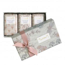 Coffret de 3 savons parfumés Jardin d'Ailleurs