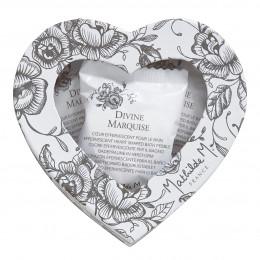 Boîte de 9 galets cœurs effervescents pour le bain - Divine Marquise