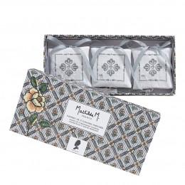 Coffret de 3 coussins parfumés Paradis Fleuri - Marquise