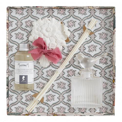 Coffret diffuseur de parfum d'ambiance Jardins de Fantaisies - Marquise