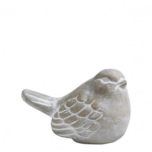 Décor Oiseau Jardin Antique - Grand modèle