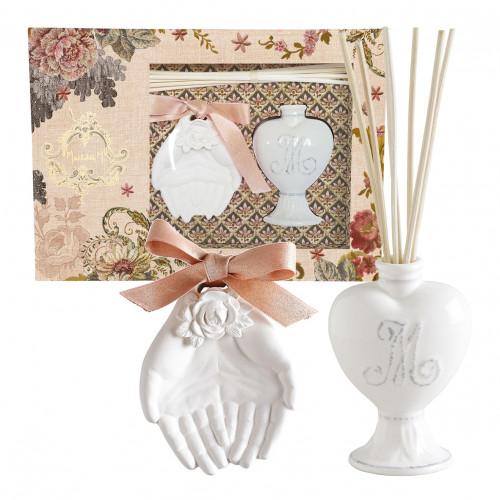 Coffret diffuseur de parfum d'ambiance Cabinet des Merveilles - Rose Élixir