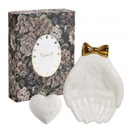 Coffret décor parfumé Cœur Cabinet des Merveilles - Rose Élixir