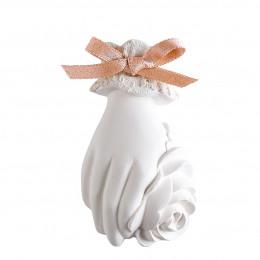 Décor parfumé Main fleurie - Rose Élixir