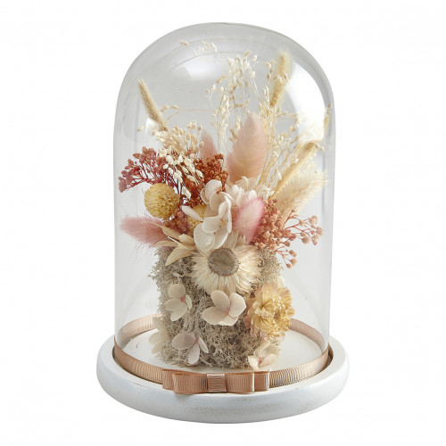 Cloche de fleurs séchées Cabinet des Merveilles - Grand modèle