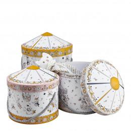Set de 3 boîtes Petit Carrousel